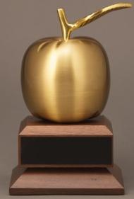 Gold Brass Apple 10E